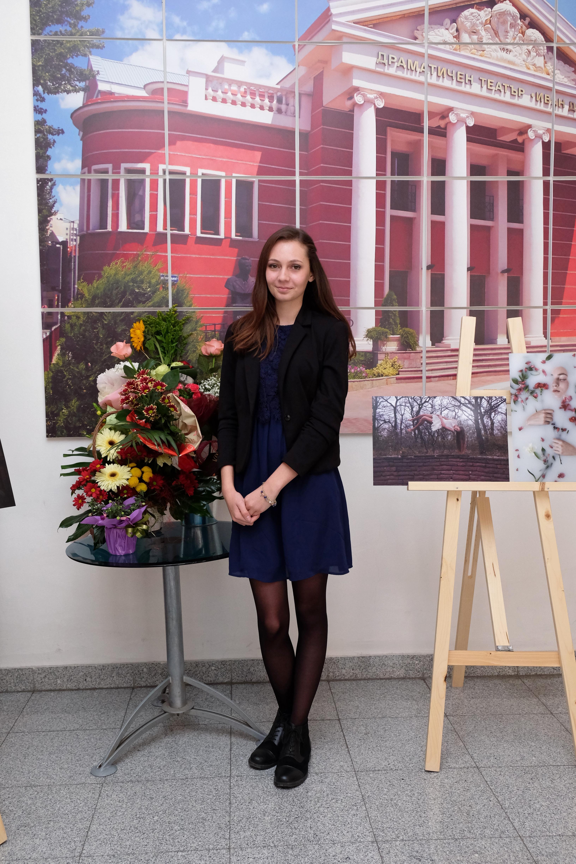 """Откриване на изложбата на Гергина Георгиева – """"Въздушни кули"""""""